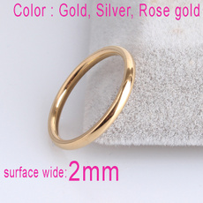 Steel, wedding ring, Gifts, gold