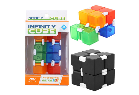 Fidget Cube in Style With Infinity Cube Pressure Reduction Toy
