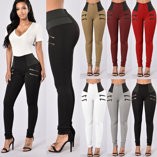 Women Pants, Leggings, zipperpant, sport pants