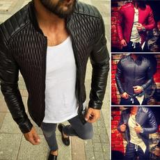 Stand Collar, men coat, Fashion, Winter