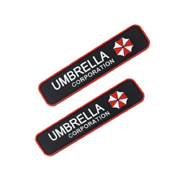 Wish Resident Evil Umbrella Corporation Logo Chest Tab 3d Pvc
