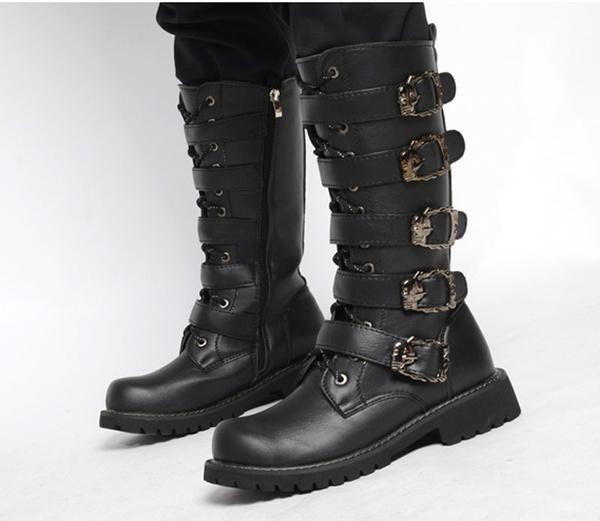 Autumn Winter Men Combat Boots Mens