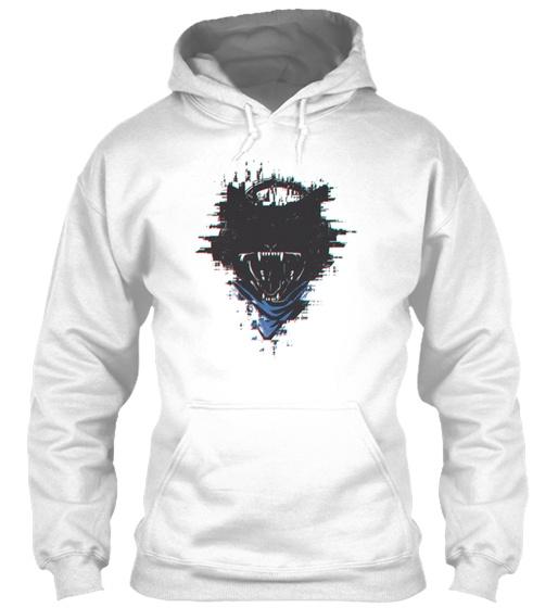 Monstercat Uncaged Volume 2 Glitch Effec Gildan Hoodie Sweatshirt