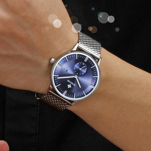Luxus Arbeit Zifferblatt Herren Quarz Watch Uhr Casual Marke Male Wwoor Sub Armbanduhr Wasserdichte Sportuhren YWDHE29I