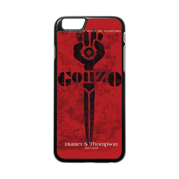 Wish Hunter S Thompson Gonzo Red Phone Case For Iphone And Samsung