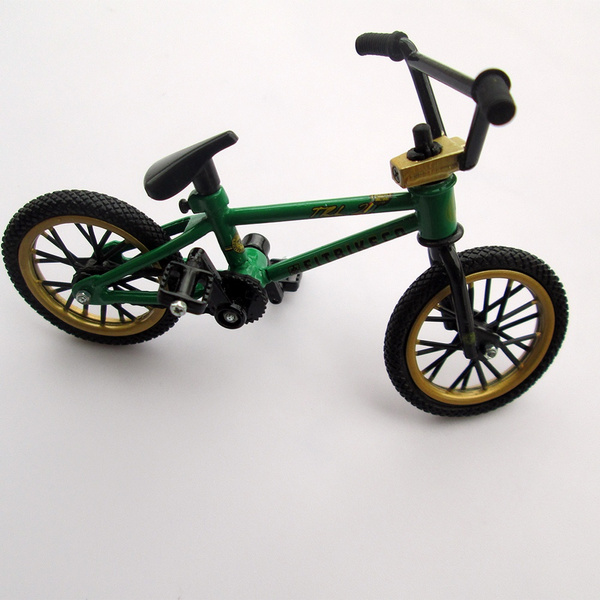 Mini Finger BMX Bicycle Flick Trix Finger Bikes Toys Novelty Gag Kids Gifts~so