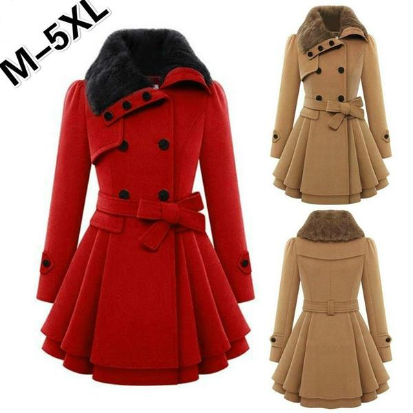 Fashion Casual Women Ladies Coat Shirts Cotton Long Sleeve Black Khaki Outwear Autumn Winter Clothes Women's Clothing