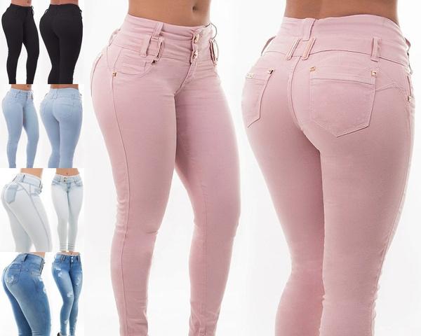 pencil, trousers, JeansWomen, Denim