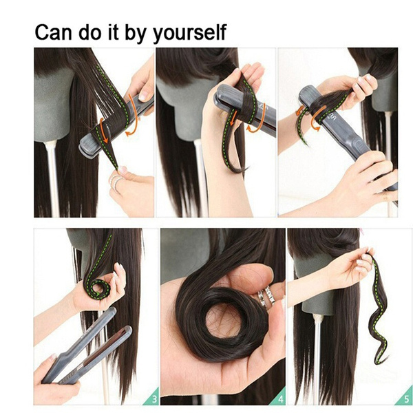 Geek 6pcsset Clip In Human Hair Extensions 60cm Synthetic