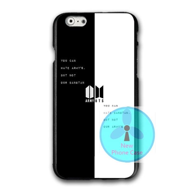 online retailer b26f2 705af Bangtan Boys BTS Cover Phone Case for Iphone 5 5s , BTS Iphone 6 6s/samsung  S7 S8 Hard Plastics Phone Protective Case