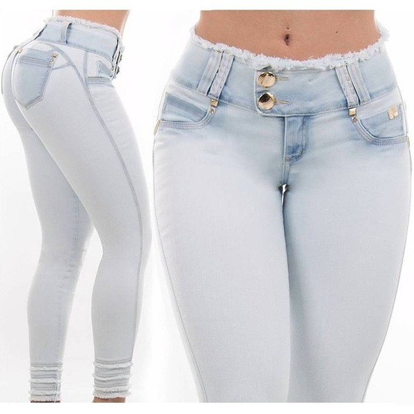 Sexy butt lifting jeans