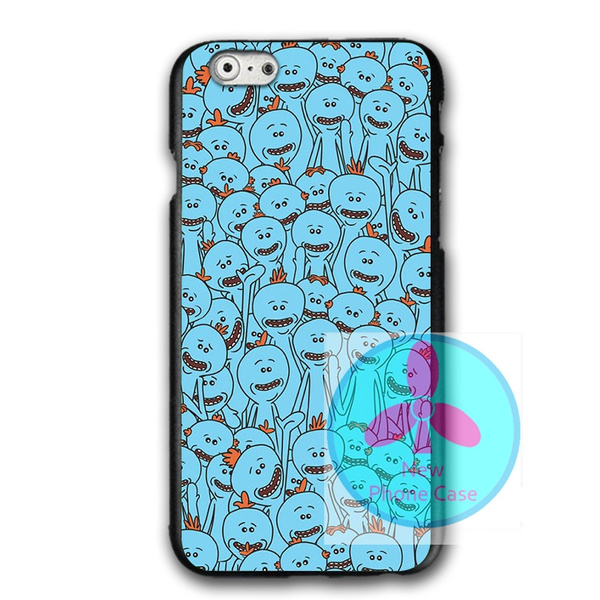 separation shoes 141dc 4af54 Designs Rick and Morty Mr Meeseeks Cover Phone Case for Iphone 5 5s , Mr  Meeseeks Iphone 6 6s/samsung S7 S8 Hard Plastics Phone Protective Case