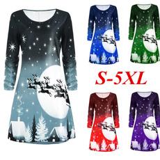 Plus Size, shirtsdre, christmasstyle, Sleeve