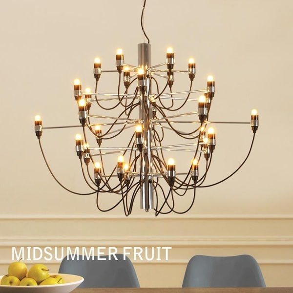 Wish Prodotto Caldo Gino Sarfatti Designed 2097 Chandelier 30 Bulbs Lights Living Room Pendant Light