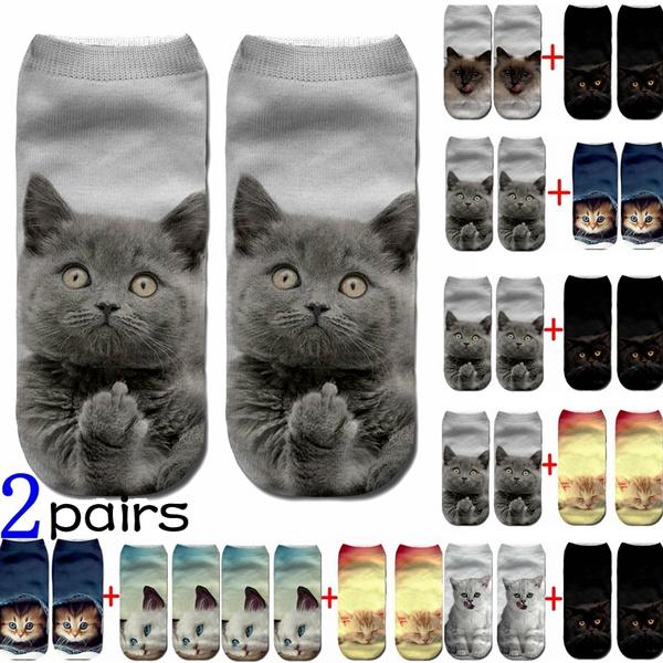 cute, Cotton Socks, art, Ankle
