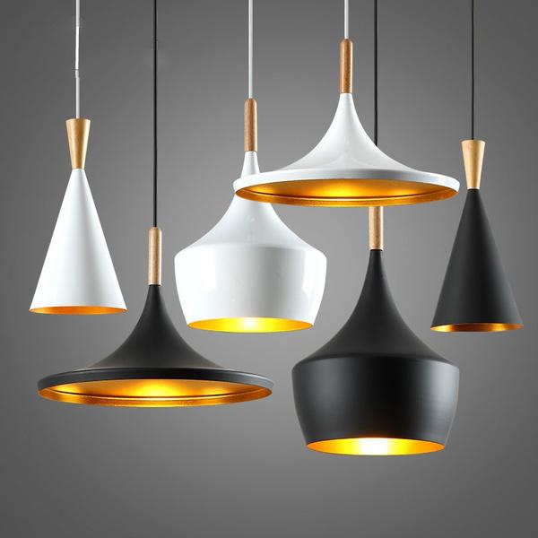 Modern Pendant Light Metal Lamp E27