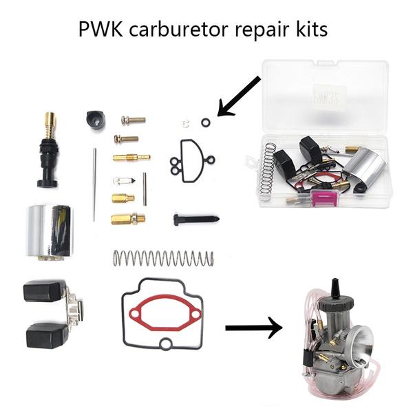 36 38 40 mm KEIHIN PWK Carburator Repair Kit Large Displacement Motorcycle  Carburetor Spare Jets 20 Sets One Pack ATV UTV