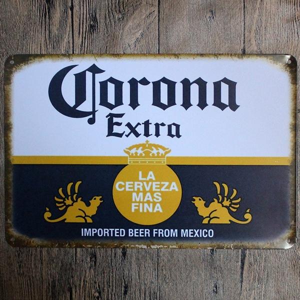 Decor, Mexico, tinplatesign, painting