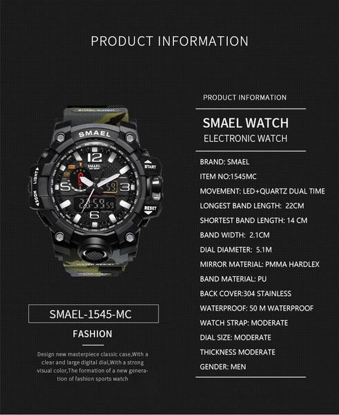 Neueste Kollektion Von Synoke Männer Uhr Relogio Masculino Multifunktions Digitale G Sport Shock Uhren Led Quarz Alarm Wasserdichte Armbanduhr Uhren Herrenuhren