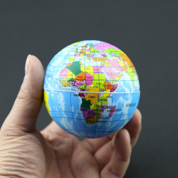Wish funny world map foam earth educational toys anti stress earth wish funny world map foam earth educational toys anti stress earth ball soft sponge squeeze toys autism mood relief healthy toys for kids cxwu gumiabroncs Choice Image