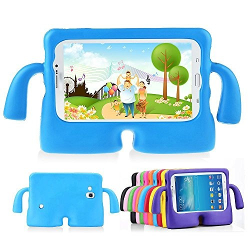 quite nice 632e5 b39de Lioeo Kids Proof Samsung Galaxy Tab 3 / 3 Lite Case Durable Silicone  Protective Cases with Carrying Handles for Samsung Galaxy Tab 3 /3 Lite  Tablet 7 ...