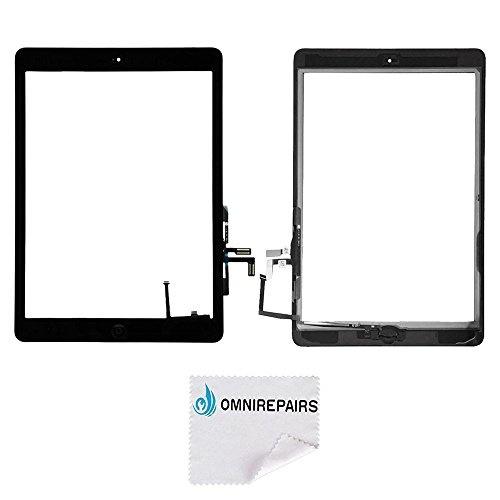 Adhesive iPad Air iPad 5 Black Replacement Home Button Flex Camera Bracket