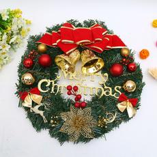 Decor, Door, Christmas, christmaswreath