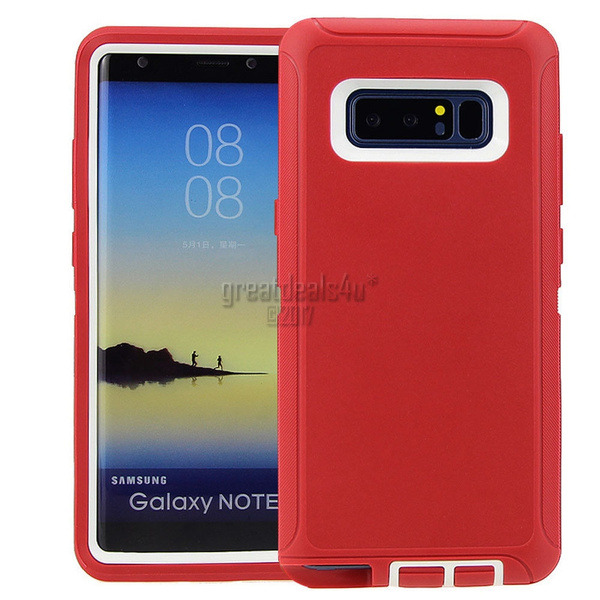 premium selection 1a813 00e78 Samsung Galaxy Note 8 Defender Rugged Case Cover (Clip Fits Otterbox) for  Apple iPhone 8/8Plus/7 Plus/7/6S Plus/6 Plus/6S/6/5s/5/SE/ iPhone X,Samsung  ...