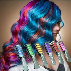 Brushes & Combs, hairchalkcomb, Health & Beauty, temporaryhairdyecomb