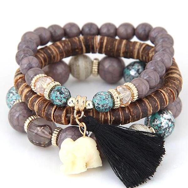 Charm Bracelet, bohobracelet, Fashion, vintagestylebracelet