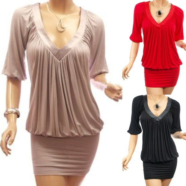 Mini, Fashion, slim hip, Sleeve