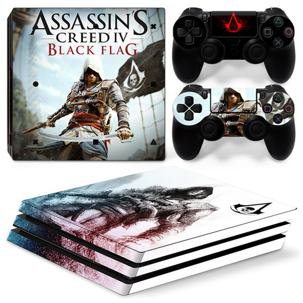 Ps4 Pro Sticker Covers Decal For Playstation 4 Pro Console Two