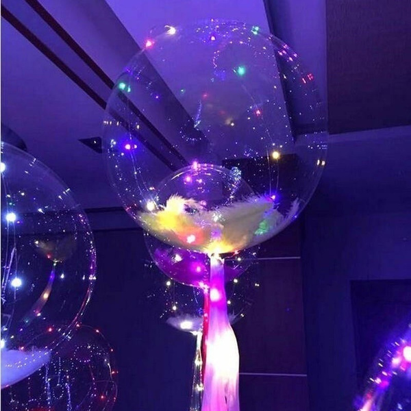 Wish | 36 Inch/18 Inch Light Up Toys LED String Lights Flasher Lighting Balloon Wave Wave Balloons Wedding Decoration & Wish | 36 Inch/18 Inch Light Up Toys LED String Lights Flasher ...