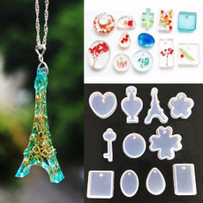 Craft, Jewelry, resinjewelrymold, Silicone