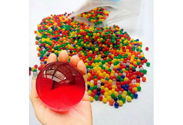 60 Beads Orbeez Wedding Decor Large Jumbo Kids Water Spa Refills Magic Balls