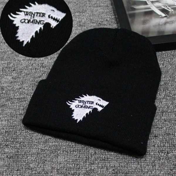 4d5430b5f5be9 Game Of Thrones Warm Knitted Beanie Skullies House Of Stark Winter ...