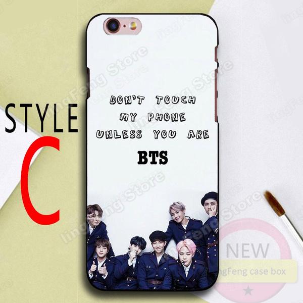 Geek Bts Phone Case Design Bts Ynwa Wallpaper Hard Plastics Case