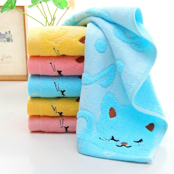 cutecattowel, microfibertowel, Fiber, Towels