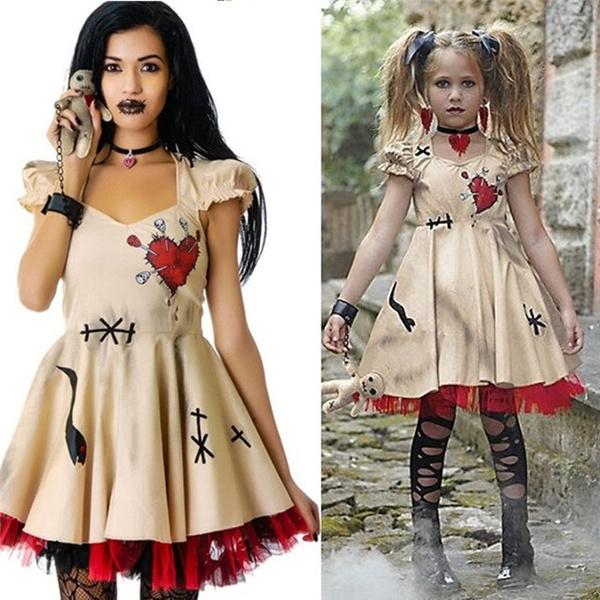 Fashion, Cosplay, doll, Halloween Costume