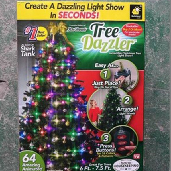 Shark Tank Christmas Tree Lights.Tree Dazzler The Christmas Holiday Lights Led Series Light Star Shower Laser Lights Christmas