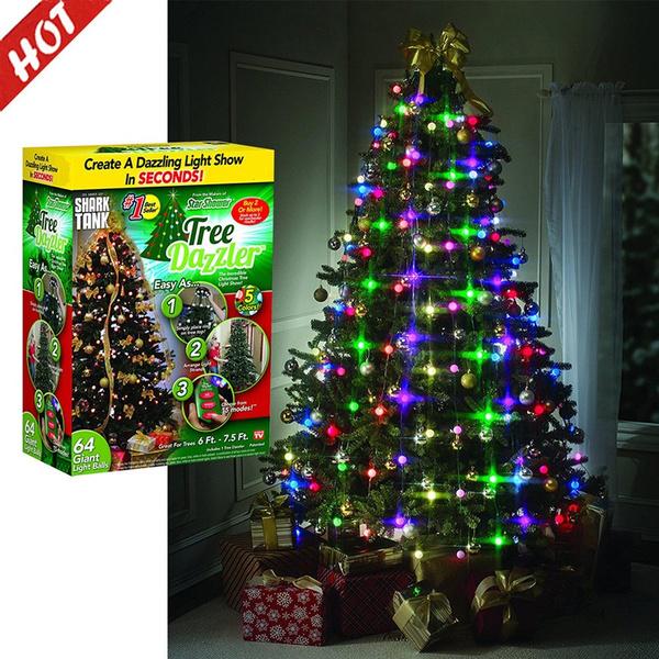 Tree Dazzler The Christmas holiday lights LED series light Star shower laser lights Christmas | Wish