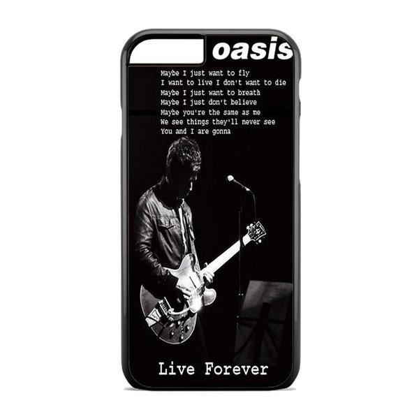 Oasis Live Forever Noel Gallagher Lyrics Design for iPhone and Samsung Hard  Case Cover