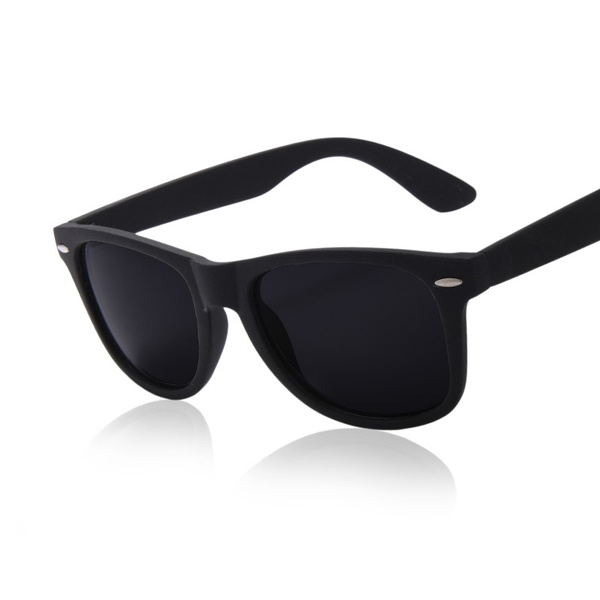 Sunglasses Men Polarized Driving Mirrors Black Frame Eyewear Male Glasses UV400