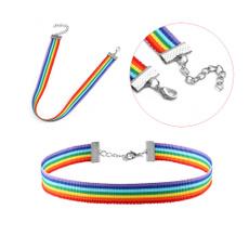 rainbow, rainbowchoker, womensclothingaccessorie, Necklaces Pendants