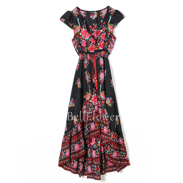 Vintage kleid hippie kleid