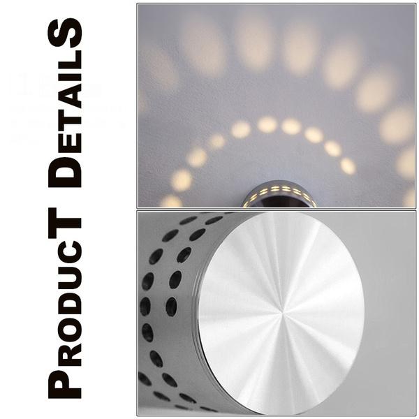 Wish | Modern Style 3W LED Wall Lamp AC85-265V Aluminum Indoor ...