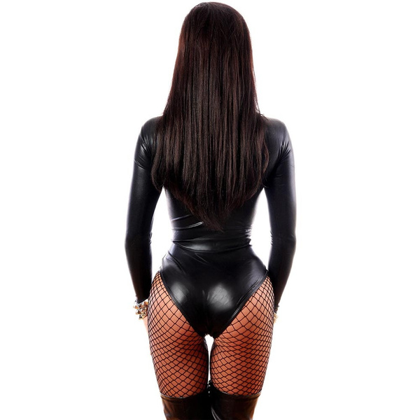 Speaking, Sexy girls black leather body suits