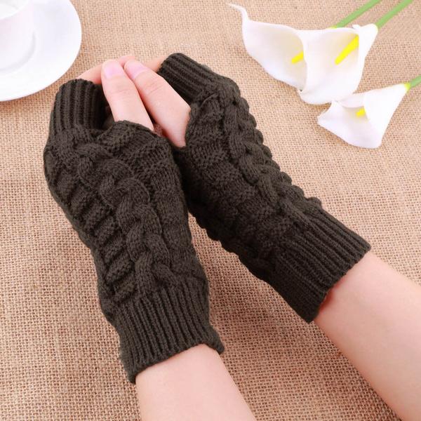 Armstulpen Pulswärmer Handstulpen Stulpen fingerlose Handschuhe