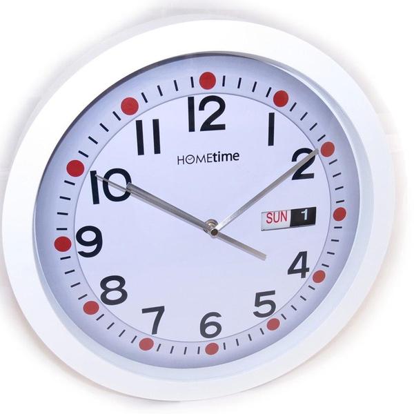 Wish Les Tresors De Lily J3274 Horloge Murale Design Blanc