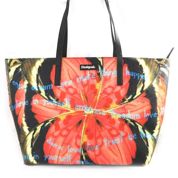 Wish Desigual M3779 Sac Createur Desigual Orange Marron